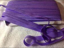 16mm Purple  Foe Elastic  3 Meters Length  HairBows Hair Bands Sewing