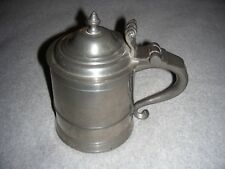 Woodbury Pewterers Lidded Beer Stein (free shipping)