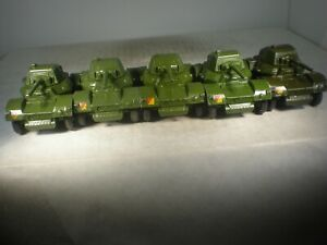 Dinky Toy Military Army Armored Car #670 (5) VERY NICE SOLD INDIVIDUALLY