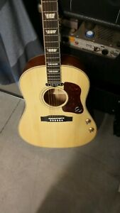 Epiphone EJ-160E/N limited edition natural finish