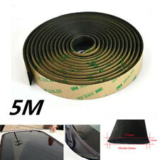 5M Rubber Seal Strip Trim For Car Front Rear Windshield Sunroof Weatherstrip New