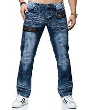 KOSMO LUPO Herren Jeans Hose ZIPPER Denim Japan Style  NEU! KM012