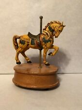 "Willitts Melodies Ceramic Horse Music Box/Carousel ""Carousel Waltz�"