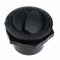 Air conditioning Universal Round A/C Air Outlet 60mm Black Air Vent For Yacht