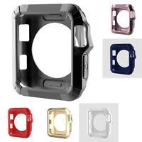 Soft Silicone Étui Cadre Coque Protection Pour Montre Apple Watch 38Mm
