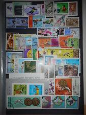 Athletisme Saut 3 scans 147 timbres + 2 Blocs Neufs & Oblitérés Dentelés & ND