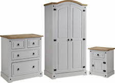 Wooden Traditional Bedroom Furniture Sets with 3 Pieces