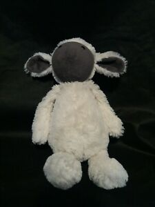 Jellycat Bashful Greyface Lamb 30 cm  Plush Soft Toy Comforter Rare Retired