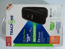 Brand New TRACFONE LG 440G No-Contract FLIP Mobile Phone Black 3G speed