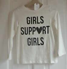 New Next 100% cotton long sleeve top  Ivory age 12 years