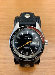 """Vintage Bulova Accutron """"Devil Diver"""" Watch, 39mm"""