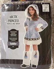 Toddlers Arctic Princess Costume-Toddler 3-4, NIP