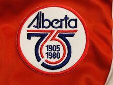 Province of Alberta 1905-1980 Commemorative Patch Edmonton Oilers Eskimos