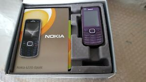 Nokia Classic 6220 - Purple (Unlocked) Mobile Phone