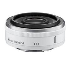 Nikon 1 NIKKOR 10mm f/2.8 Lens White Original For J1 J2 J3 J4 V1 V2 V3 S1 S2