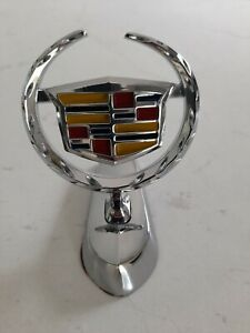 Cadillac badge bonnet  , die cast steel , Brand new suit badge collector