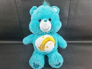Care Bears WISH BEAR Glitter Eyes Blue Yellow Star 2019 Headstart Plush Toy