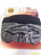 NEW BUFF Reversible Polar Reversible Men's Clothing Beanies / Headbands Grey