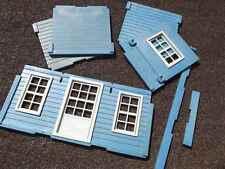 """Playmobil Einzelteile 3421 Wohnhaus 3422 Bank """"blaues Haus"""" Western (WG17)"""
