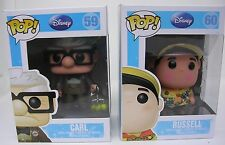 New Disney Pixar Up Movie Carl & Russell Funko Pop! Vinyl Toy Figure Set 59 60 1