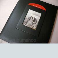 Black Buckram A4 archival scrapbook album 3013A4SBL