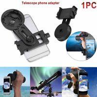 Cell Phone Holder Adapter Mount Binocular Monocular Spotting Scope Telescope Hot