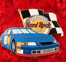 Hard Rock Cafe Pin SACRAMENTO Pinapalooza NASCAR Race Car race flag checkered le
