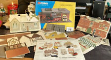 Cardboard Scale Buildings  (Lot 76)