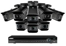 NEW Lorex 16 Channel 4K NVR + 8  8MP IP Cameras Nocturnal 4KHDIP168Ni 30 fps