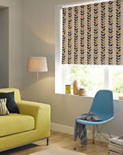 Quality Value Leaf Print Floral Pattern Blackout Roller Blinds From Only £4.99!