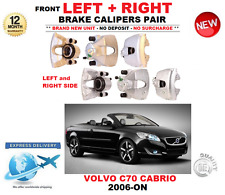 FOR VOLVO C70 CONVERTIBLE 2006-ON FRONT LEFT and RIGHT BRAKE CALIPERS PAIR