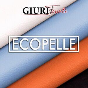 Tessuto Morbida Ecopelle Finta pelle - al Mezzo Metro - H.140cm -  per arredo