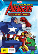 The Avengers: Earth's Mightiest Heroes! - Heroes Assemble! (Marvel) DVD NEW