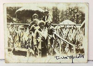 Rare Tina Modotti Signed Miniature Photograph