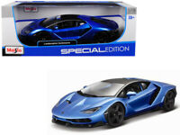 Lamborghini Centenario Blue Metallic 1/18 Diecast Model Car by Maisto