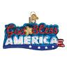 """God Bless America"" (36213)X Old World Christmas Glass Ornament w/ OWC Box"