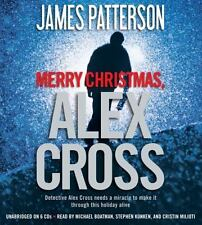 Merry Christmas, Alex Cross Patterson, James Audio CD ~ Free Shipping