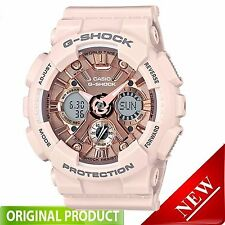 GMAS120MF-4A Casio G-Shock  S Series Peach and Rose Gold 46mm Watch
