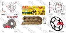 Honda CR125 R-2 02 DID X Ring Gold Chain Kit 13/51t 520/114