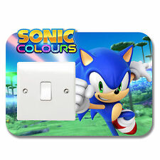 Sonic the Hedgehog Light Switch Vinyl Sticker Surround