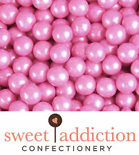 450g Pink Sixlets Wedding Birthday Candy Buffet Bulk - Sweet Addiction