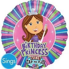 Anagram  SINGING BIRTHDAY PRINCESS BALLOON  I Sing Sweet 16 Colorful