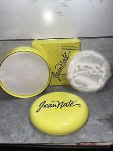 Vintage Jean Nate Body Powder New In Box Sealed