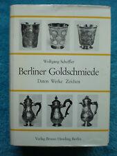 BERLINER GOLDSCHMIEDE Wolfgang SCHEFFLER Hessling Berlin 1968 RARITÄT