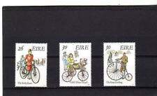 IRELAND - SG795-797 MNH 1991 EARLY BICYCLES