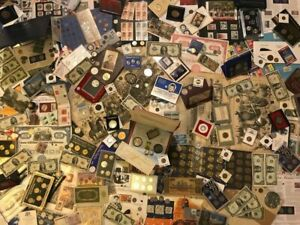 ESTATE COIN COLLECTION SALE!! OLD US COINS, SILVER, CURRENCY, HOARD!!!