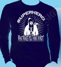 Donnie Darko Mens Long Sleeve Navy XL ONE ONLY Special Offer Superhero Cult Film