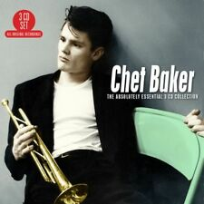 Chet Baker ABSOLUTELY ESSENTIAL COLLECTION Best Of 60 Songs NEW SEALED 3 CD