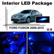 Blue LED Lights Interior Package Kit for Ford Fusion 2006-2012 ( 8 Pieces )