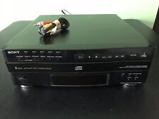 New listing Sony Cdp-C322M 5 Disc Cd Carosel Changer Tested And Working.